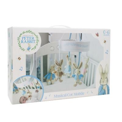 Beatrix Potter - Peter Rabbit Musical Cot Mobile  Universal Fitting - From Birth • 37.50£