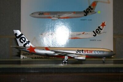 AU398 • Buy JC Wings 1:200 Jetstar Airbus A330-200 VH-EBF (XX2671) Die-Cast Model Plane