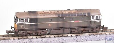 2D-001-006 Dapol N Class 33/0 33008 Eastleigh Yellow Front Weathered By TMC • 171.35£