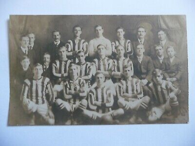 Early Real Photo Postcard Sletlton ? A.F C Football Team  • 4.50£