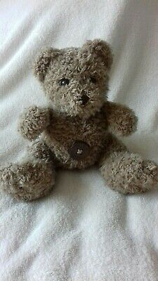 Mamas And Papas Button Teddy Bear Comforter Soft Toy • 4.99£