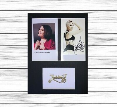Jessie J HAND SIGNED AUTOGRAPHED Mounted Display With COA • 19.98£