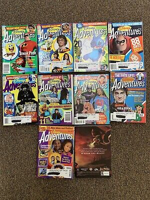 $24.99 • Buy Disney Adventures The Magazine For Kids FULL YEAR 2005 10 Issues Pop Culture