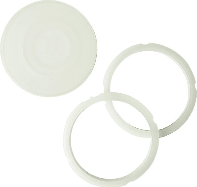 $20.22 • Buy 3-Pack Compatible 3-Quart Instant Pot Sealing Rings And Instant Pot Silicone Lid
