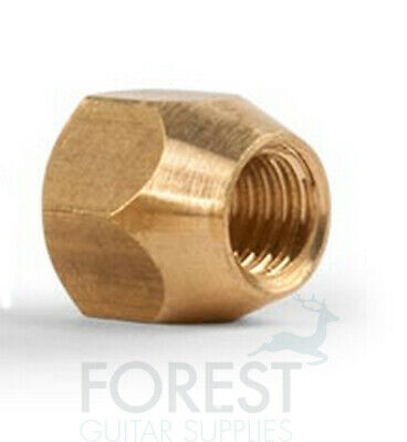 £8.11 • Buy Truss Rod Nut For Gibson ®, Brass 10/32  Thread, 5/16  Wrench Size Long Taper