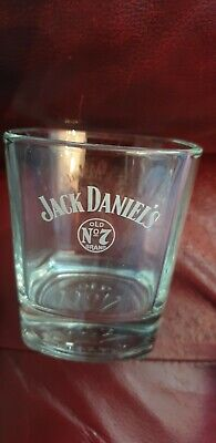 £3.99 • Buy Jack Daniels Glass Etched Logo New Rare