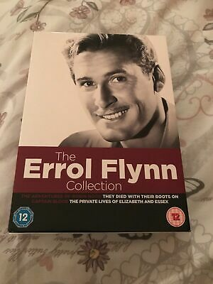 The Errol Flynn Collection 4 [DVD's) • 5.50£