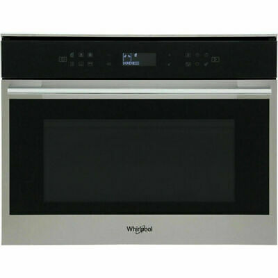 Whirlpool W7MW461UK W Collection 900 Watt Microwave Built In Stainless Steel • 499£