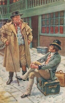 £5.03 • Buy Dickens Characters Harold Copping Raphael Tuck & Sons Oilette 04.94