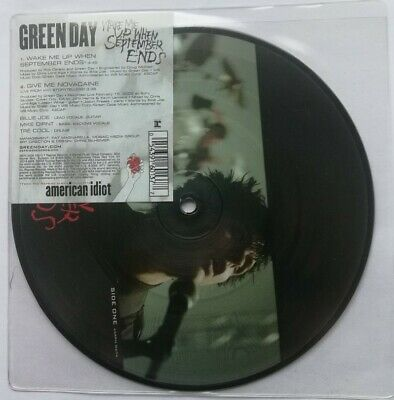 Green Day - Wake Me Up When September Ends 7  Picture Disc Unplayed • 19.99£