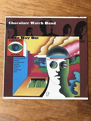 THE CHOCOLATE WATCH BAND - No Way Out LP Reissue GARAGE PSYCH ROCK Sundazed 2009 • 18£