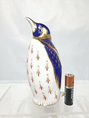 Superb Royal Crown Derby Penguin Paperweight Signed LP 5.5   • 19.99£