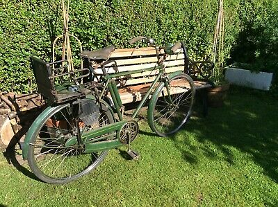 Old Vintage Raleigh Ex Police Bike Pre 1950 • 11.50£