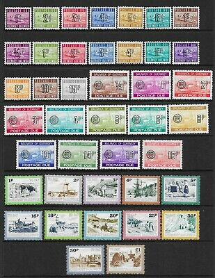 2 Scans-Collection Of UNMOUNTED MINT Guernsey Stamps. • 1£