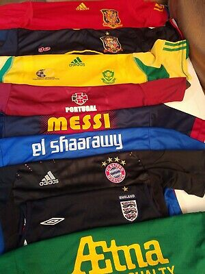 $139.99 • Buy SOCCER FOOTBALL Jersey Shirt COLLECTION LOT OF 9 ADULT SMALL