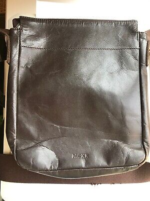 Mexx Brown Leather Shoulder Bag • 10£