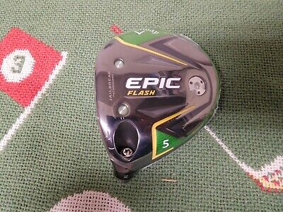 $ CDN146.01 • Buy New (LH) Callaway Epic Flash Fairway Wood Head (5 Wood -18*)/ Head Only !