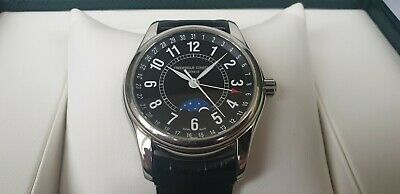 $800 • Buy FREDERIQUE CONSTANT FC-330B6B6 Moon Phase Automatic Watch W/Box Full Set