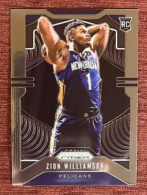 $199.99 • Buy 2019-20 Prizm ZION WILLIAMSON Rookie Card Base RC #248 New Orleans Pelicans🔥