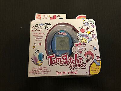 AU95 • Buy Tamagotchi Friends - Sapphire Gem - Wave 1 (Europe) - Mint In Box - Unopened