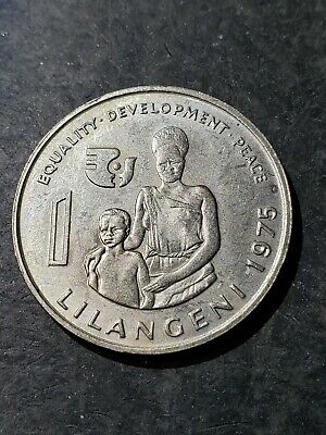 $3.33 • Buy 1975 Swaziland 1 Lilangeni Coin  Fao