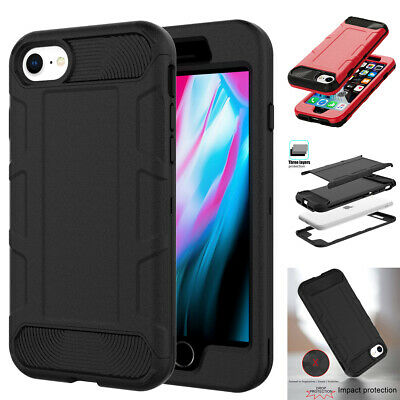 AU9.99 • Buy For IPhone SE 2020 IPhone 7 8 Case Hybrid Heavy Duty Shockproof Armor Hard Cover
