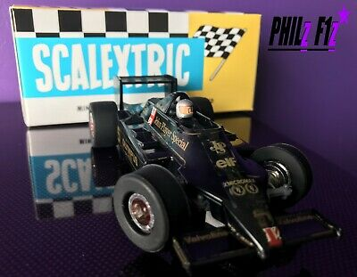 Scalextric Car JPS Lotus No 5 (Olympus) VERY RARE GREAT CONDITION BOXED • 40£