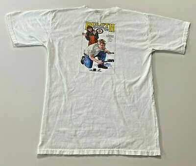 $ CDN47.35 • Buy Vintage Duluth Trading T-Shirt Size XL Double Sided Made In Usa White Rare