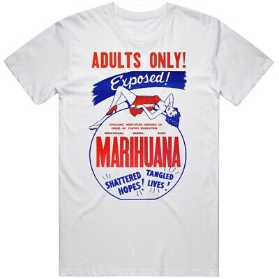 $ CDN26.69 • Buy Vintage Marihuana Exposed Movie T Shirt