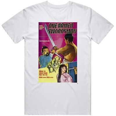 $ CDN26.69 • Buy Vintage Swordsman Kung Fu Movie T Shirt