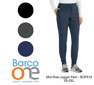 $32.95 • Buy Grey's Anatomy Barco One Women's BOP513 Mid Rise Perforated Jogger Scrub Pant