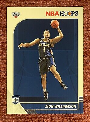 $29.99 • Buy 2019-20 NBA Hoops ZION WILLIAMSON Rookie Card #258 RC New Orleans Pelicans🔥