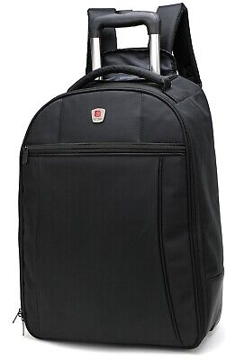 £42.99 • Buy City Bag Trolley Cabin Backpack With Wheels - 55 X 40 X 20 Carry On - 44 Litre