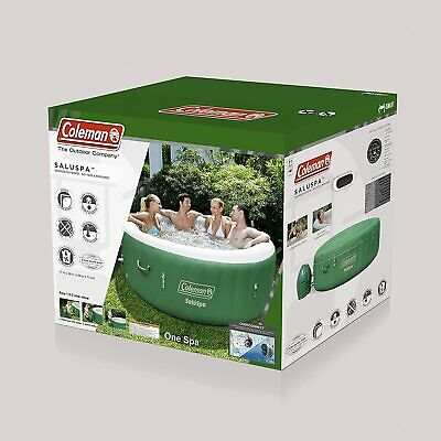 $649.99 • Buy *Brand New* Coleman SaluSpa Inflatable Hot Tub Spa Green & White *In Hand*