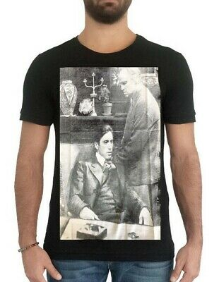 GodFather T Shirt, --Just  S  Is Left-- Poster Best Movie T-shirt - 100% Cotton. • 5.50£