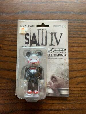 $148 • Buy Be@rbrick 100% SAW IV 4  Wood Doll Bearbrick Medicom Toy Fig. Shipped From Japan