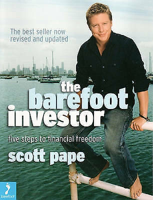 AU15.90 • Buy The Barefoot Investor - Scott Pape..signed..vgc   R1