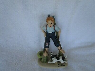 $ CDN19.57 • Buy The 12 Norman Rockwell Porcelain Figurines BOY ON STILTS 1980 Danbury Mint