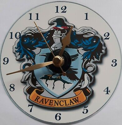 £10.99 • Buy Harry Potter Ravenclaw House CD Clock Silent Non Ticking Plus Stand