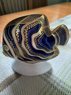 Royal Crown Derby Koran Fish Perfect Condition • 40£