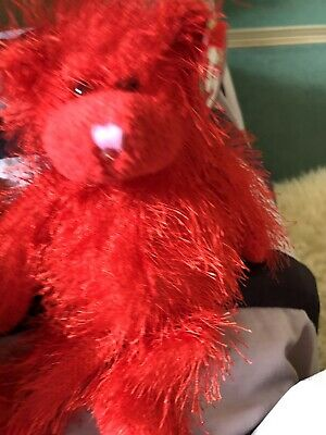 Ty Beanie Punkies  Sizzles - Red Bear - Mint - Retired • 2£