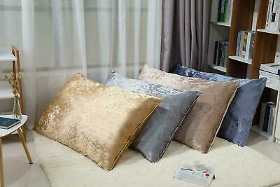 £11.49 • Buy NEW X-LARGE RECTANGLE CRUSHED VELVET FLOOR SEATS CUSHION COVERS LOUNGER 80x120CM