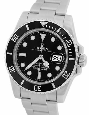 $ CDN12353.87 • Buy 2019 Rolex Submariner Date 116610 LN Stainless Black Dive Ceramic 40mm Watch