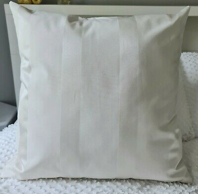 AU21.99 • Buy Handmade Hamptons Light Cream Decor Cushion Cover 55x55 Or 60x60 New