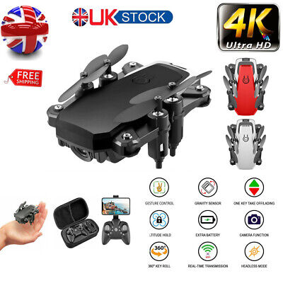 Foldable RC Drone Quadcopter With HD Camera WIFI FPV Quadcopter Altitude 2020 • 29.99£