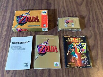 $289.95 • Buy Legend Of Zelda: Ocarina Of Time Gold Collector's Edition (N64) Complete -Tested