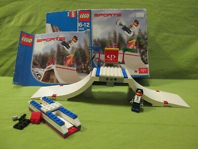 LEGO SPORTS Set 3536 - Gravity Games Big Air Competition Inc. Box & Instructions • 99.99£