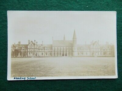 Reading School Vintage RP Postcard Posted 1912 • 0.99£