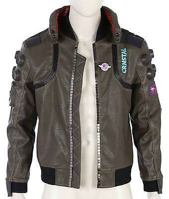 $ CDN212.47 • Buy Cyberpunk 2077 Jacket | Samurai Gaming Bomber Leather Jacket