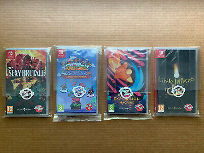 $200 • Buy Lot Of 4 (Nintendo Switch Games) Brand New!!  Free Shipping!! Super Rare Games!!